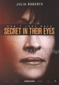【映画ポスター】 シークレットアイズ (ジュリアロバーツ/Secret in Their Eyes) /ADV 片面 オリジナルポスター