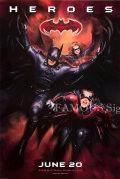 【映画ポスター】 バットマン&ロビン Mr.フリーズの逆襲 (ジョージクルーニー/BATMAN & ROBIN) /ヒーロー ADV 両面 オリジナルポスター