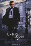 【映画ポスター グッズ】007 カジノ・ロワイヤル (ダニエル・クレイグ/ジェームズボンド/Casino Royale) /REG 片面 [オリジナルポスター]