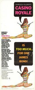 【映画ポスター】 007 カジノロワイヤル (ジェームズボンド/デビッドニーブン/Casino Royale) /片面 オリジナルポスター