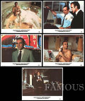 【映画スチール写真5枚セット】007 ダイヤモンドは永遠に (ショーンコネリー/Diamonds Are Forever) ロビーカード/グッズ