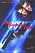 【映画ポスター】 007 ダイアナザーデイ (ピアースブロスナン/ジェームズボンド/Die Another Day) /ADV 片面 オリジナルポスター