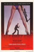 【映画ポスター】 007 ユアアイズオンリー (ジェームズボンド/For Your Eyes Only) /片面 オリジナルポスター