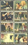 【映画スチール写真8枚セット】007 ゴールドフィンガー (ショーン・コネリー/Goldfinger) [ロビーカード/グッズ]