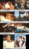 【映画スチール写真8枚セット】007 ゴールドフィンガー (ショーンコネリー/Goldfinger) ロビーカード/グッズ