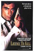【映画ポスター グッズ】007 消されたライセンス (ジェームズボンド/ティモシー・ダルトン/Licence To Kill) /ADV 片面 [オリジナルポスター]