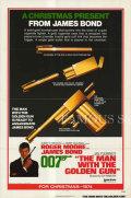 【映画ポスター グッズ】007 黄金銃を持つ男 (ロジャー・ムーア/ジェームズボンド/The Man with the Golden Gun) /ADV 片面 [オリジナルポスター]
