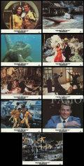 【映画スチール写真9枚セット グッズ】007 ムーンレイカー (ロジャー・ムーア/ジェームズボンド/Moonrake) [ロビーカード]