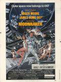 【映画ポスター グッズ】007 ムーンレイカー (ロジャー・ムーア/ジェームズボンド/Moonrake) /片面 [オリジナルポスター]