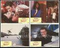 【映画スチール写真4枚セット グッズ】007 オクトパシー (ロジャームーア/ジェームズボンド/ロジャームーア/Octopussy) ロビーカード