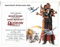 【映画ポスター】 007 オクトパシー (ロジャームーア/ジェームズボンド/Octopussy) /片面 オリジナルポスター