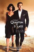 【映画ポスター グッズ】007 慰めの報酬 (ダニエル・クレイグ/ジェームズボンド/Quantum of Solace) /REG 両面 [オリジナルポスター]