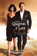 【映画ポスター グッズ】007 慰めの報酬 (ダニエル・クレイグ/ジェームズボンド/Quantum of Solace) /公開日入り 両面 [オリジナルポスター]