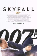 【映画ポスター】 007 スカイフォール (ダニエルクレイグ/ジェームズボンド/Skyfall) /公開日入り REG 片面 オリジナルポスター