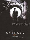 【映画ポスター グッズ】007 スカイフォール (ダニエル・クレイグ/ジェームズボンド/Skyfall) /フランス版 ミニサイズ 片面 [オリジナルポスター]