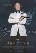 【映画ポスター グッズ】007 スペクター (ダニエル・クレイグ/ジェームズボンド/Spectre) /フランス版 REG 両面 [オリジナルポスター]