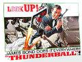 【映画ポスター】 007 サンダーボール作戦 (ジェームズボンド/ショーンコネリー/Thunderball) /片面 オリジナルポスター