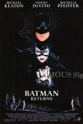 【映画ポスター グッズ】バットマン リターンズ (ティム・バートン/Batman Returns) /REG 片面 [オリジナルポスター]