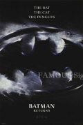 【映画ポスター】 バットマン リターンズ (ティムバートン/Batman Returns) /ADV 片面 オリジナルポスター