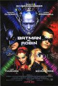 【映画ポスター】 バットマン&ロビン Mr.フリーズの逆襲 (ジョージクルーニー/BATMAN & ROBIN) /REG 両面 オリジナルポスター
