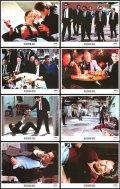 【映画スチール写真8枚セット】レザボアドッグス (クエンティンタランティーノ/Reservoir Dogs) ロビーカード/グッズ