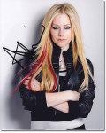 【直筆サイン入り写真】 アヴリルラヴィーン (Avril Lavigne/アブリルラビーン) 映画グッズ/オートグラフ