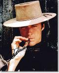 【直筆サイン入り写真】 クリントイーストウッド (奴らを高く吊るせ!/Clint Eastwood) 映画グッズ/オートグラフ