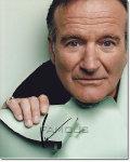 【直筆サイン入り写真】 ロビンウィリアムズ Robin Williams (グッドウィルハンティング/旅立ち 等) 映画グッズ/オートグラフ
