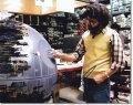 【直筆サイン入り写真】 ジョージルーカス (STAR WARS監督/George Lucas) 映画グッズ/オートグラフ