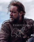 【直筆サイン入り写真】 ラッセルクロウ (ノア 約束の舟/Russell Crowe) 映画グッズ/オートグラフ