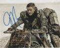 【直筆サイン入り写真】 トムハーディ (マッドマックス 怒りのデスロード/Tom Hardy) 映画グッズ/オートグラフ