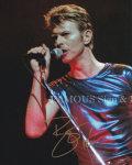 【直筆サイン入り写真】デヴィッド・ボウイ (David Bowie) [グッズ/オートグラフ]