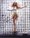 【直筆サイン入り写真】 マライアキャリー (メリークリスマス/MTV Unplugged 等/Mariah Carey) グッズ/オートグラフ