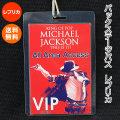 マイケルジャクソン バックステージパス レプリカ /MICHAEL JACKSON グッズ /THIS IS IT コンサート /送料無料