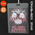 マドンナ バックステージパス レプリカ /MADONNA グッズ /MDNA ワールド ツアー コンサート /送料無料