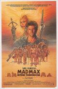 ★歳末10%OFFセール★ 【映画ポスター】 マッドマックス サンダードーム (Mad Max Beyond Thunderdome) /片面 オリジナルポスター