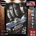 【映画ポスター】 ワイルドスピードMAX (ポールウォーカー/FAST & FURIOUS) coming soon REG-B-両面 オリジナルポスター