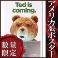 【映画ポスター/グッズ】テッド (ted/マークウォールバーグ) /ted is coming ADV-SS オリジナルポスター