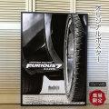 【映画ポスター】 ワイルドスピード SKY MISSION (ポールウォーカー/FURIOUS 7) /ADV-両面 オリジナルポスター