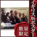 【映画ポスター】 ワイルドスピード SKY MISSION (ヴィンディーゼル/FURIOUS 7) /BQ-両面 オリジナルポスター
