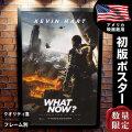 【映画ポスター】 ケビン・ハート:WHAT NOW? ケヴィン・ハート フレーム別 おしゃれ 大きい インテリア アート B1に近い約69×102cm /両面 オリジナルポスター