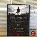 【映画ポスター】 ペットセメタリー スティーヴンキング /ホラー インテリア アート フレームなし /ADV-両面 オリジナルポスター