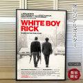 【映画ポスター】 ホワイト・ボーイ・リック マシュー・マコノヒー /モノクロ インテリア アート おしゃれ フレームなし /両面 オリジナルポスター
