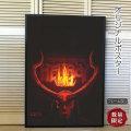 【映画ポスター】 ヘルボーイ Hellboy グッズ /リブート マーベル アメコミ インテリア アート フレームなし /2nd ADV-両面 オリジナルポスター