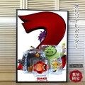 【映画ポスター】 アングリー・バード2 グッズ /インテリア アニメ おしゃれ フレームなし /ADV-両面 オリジナルポスター