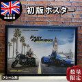【映画ポスター】 ワイルド・スピード スーパーコンボ グッズ スピンオフ /おしゃれ アート インテリア フレームなし /イギリス版 Quad A-両面 オリジナルポスター