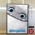 【映画ポスター】 スノーベイビー Abominable /アニメ インテリア アート おしゃれ 約69×102cm フレーム別 /ADV-両面 オリジナルポスター