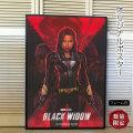 【映画ポスター】 ブラック・ウィドウ グッズ /スカーレット・ヨハンソン /アメコミ インテリア アート 約69×102cm /フレーム別 /2nd ADV-両面 オリジナルポスター
