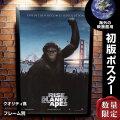 【映画ポスター】 猿の惑星 創世記 ジェネシス グッズ フレーム別 おしゃれ デザイン インテリア Rise of the Planet of the Apes /INT-ADV-両面 オリジナルポスター