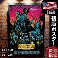 【映画ポスター】 ストリート・オブ・ファイヤー フレーム別 おしゃれ インテリア アート 大きい グッズ B1に近い約69×102cm /片面 オリジナルポスター